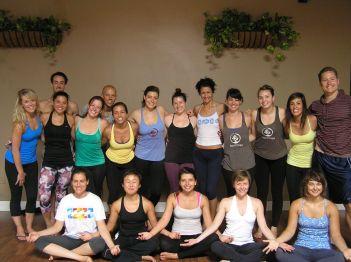 Yoga Spirit Studios Teacher Training Graduates - Spring 2013