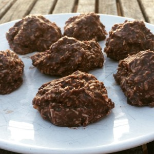 almond butter coconut cacao balls